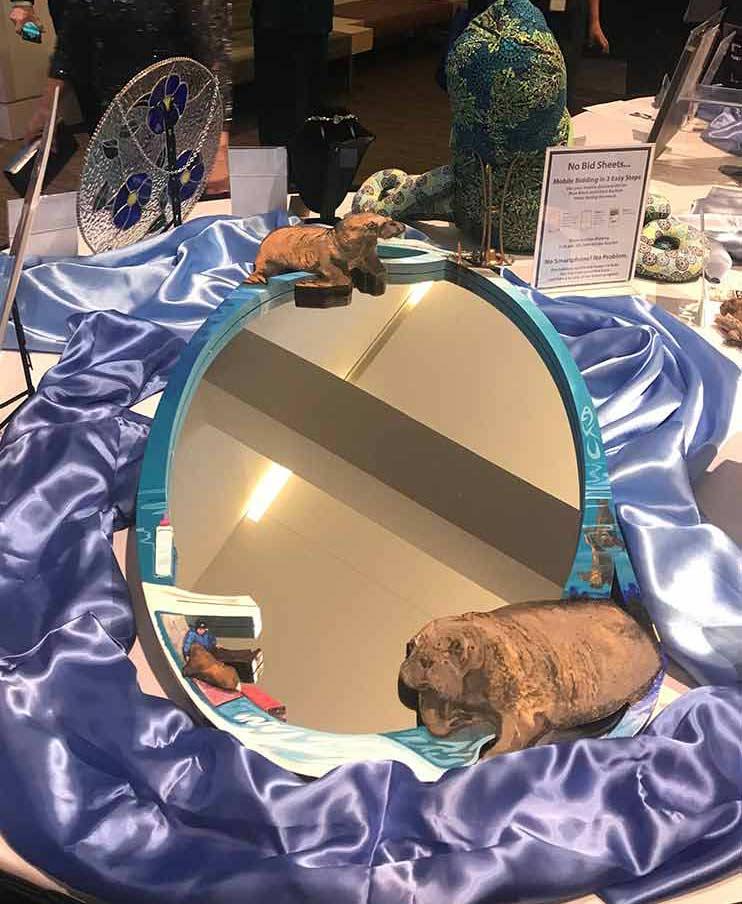 Alaska SeaLife Center Gala 2018 - AKU Mirror by Maria Talasz, Equilux