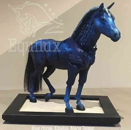 The Articulated Blue Horse