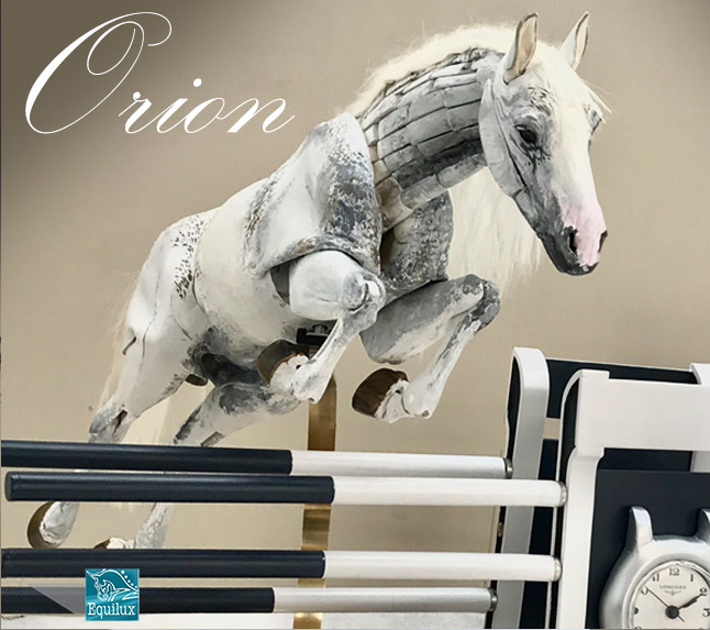 Orion - articulated horse sculpture